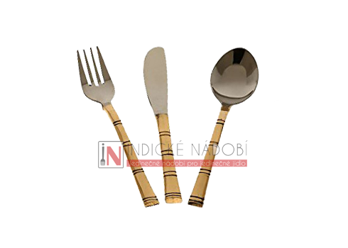 Příborový set,  3ks  copper/steel